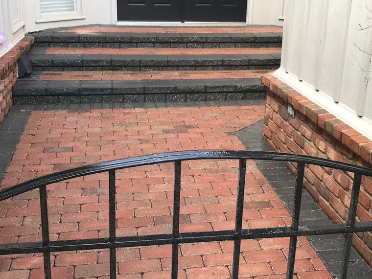 Brick Paver Entry