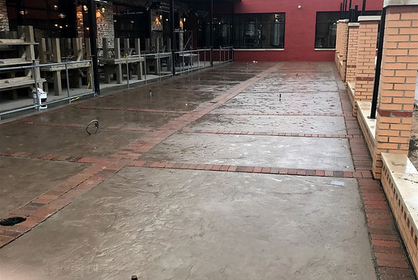 Brick Paver Patios at Founders Brewing Co., Detroit