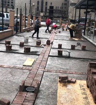 Brick Pavers at Founders Brewing Co., Detroit