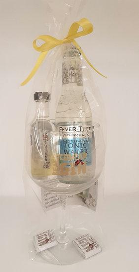 Beachcomber Gin mini glass gift pack