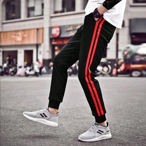 stylish spun terry track pant