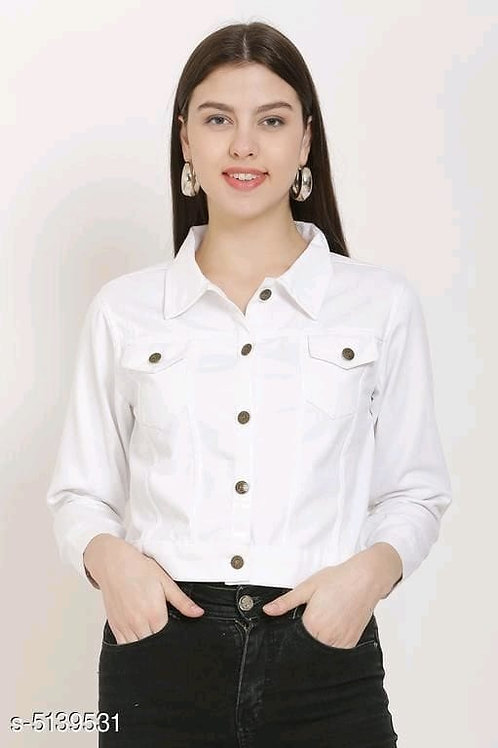 white fabulous women's jacket