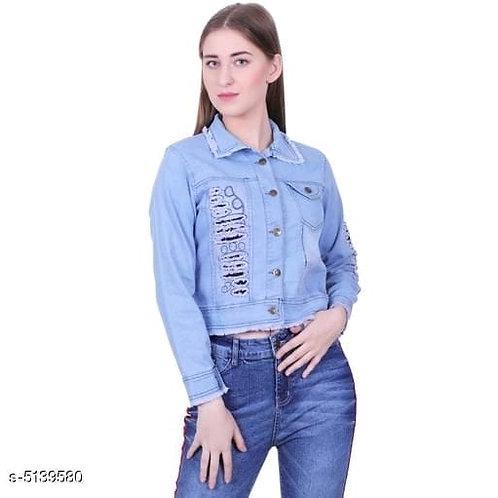 designer denim women jacket