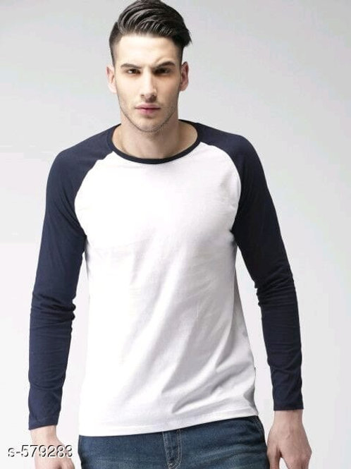 elegant cotton men's T-shirt