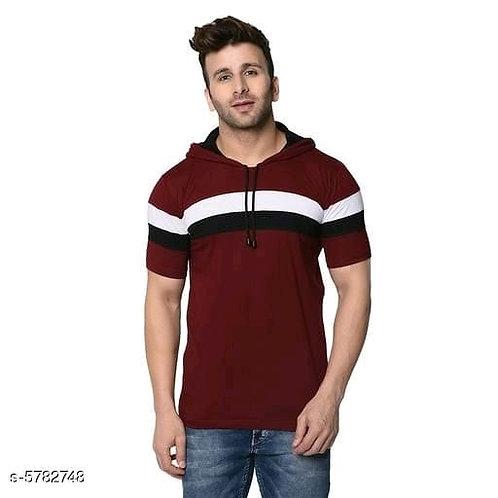 trendy men's hoodies t-shirt