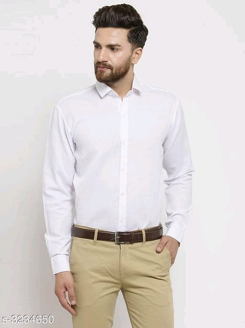 attractive men's cotton blend shirts