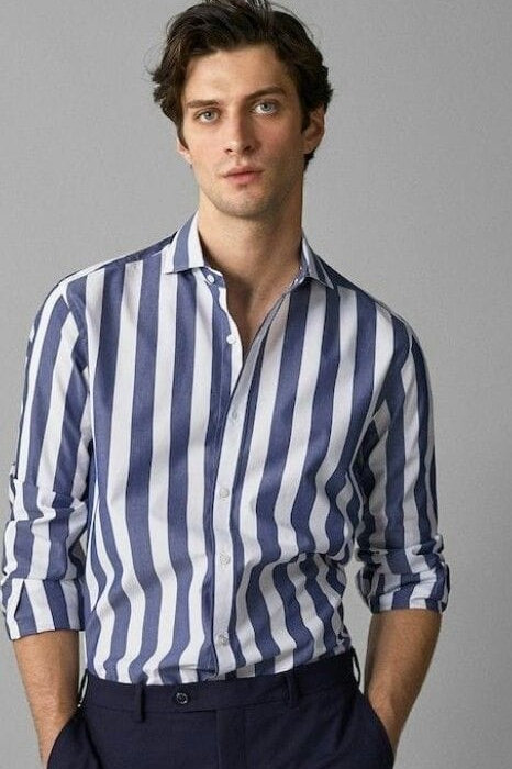 fashionable men's casual shirt