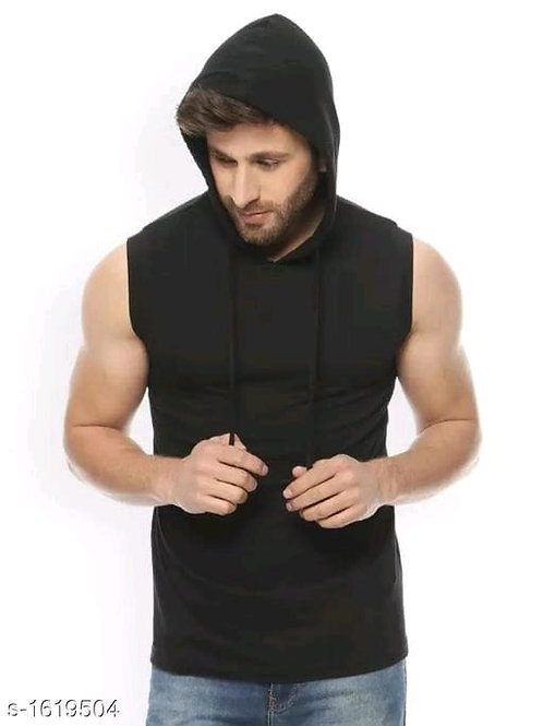 hoodies cotton solid t-shirts