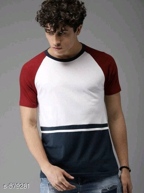 elegant cotton men's T-shirt