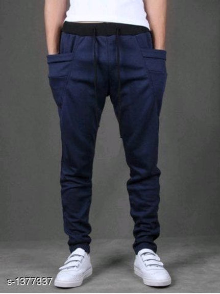trendy casual spun blend track pant