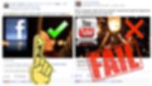 Youtube vs Facebook video marketing soci