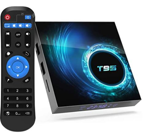 T95 Android 10.0 TV Box 4GB RAM 64GB ROM
