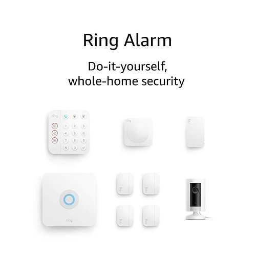 Ring Alarm 8-piece Kit (2nd Gen) with Ring Indoor Cam