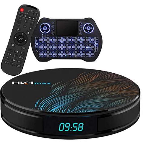 Android TV Box 10.0 4GB 64GB Smart TV Box Streaming Media Player