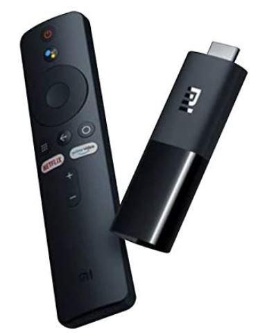 Xiaomi Mi TV Stick with Voice Remote - 1080P HD Streaming Media Player, Cast, Po