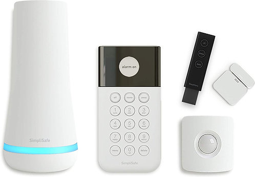SimpliSafe 5 Piece Wireless Home Security System - Optional 24/7 Monitoring