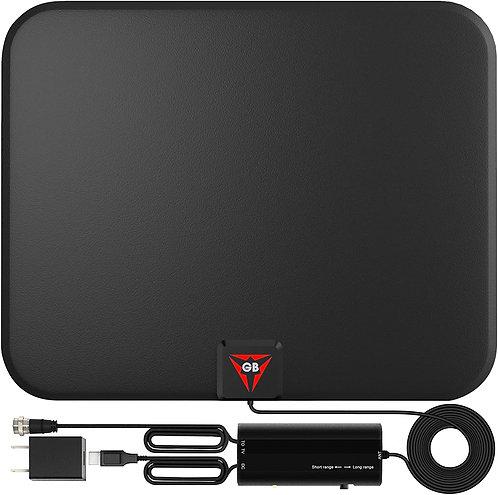 Digital TV Antenna Long 200 Miles Range - Support 4K 1080 Signal Booster