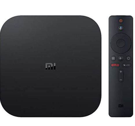 Xiaomi Mi Box S | 4K HDR Android TV with Google Assistant Remote Streaming Media