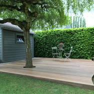 Terrasse en bois EXO sur plots