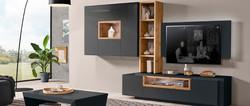 elegance negro madera