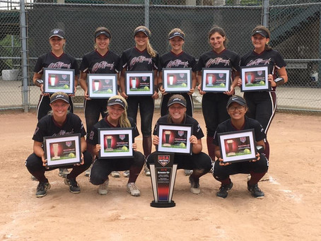 Wolfpack 16u - Dudek | USA Northern Nationals | 2nd PLACE | 2018