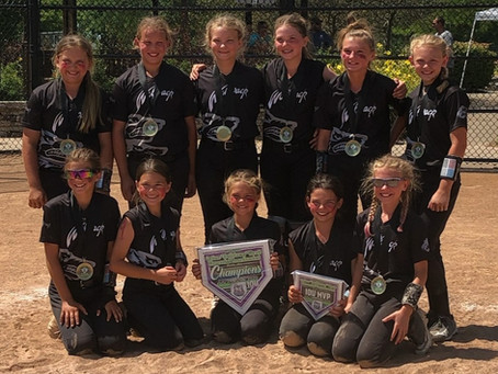2020 Celine Wyatt Memorial Tournament Champions- 1st place - Ohio Wolfpack 09
