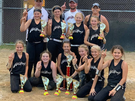 Mount Vernon Dixie Days Tournament - 1st place - Ohio Wolfpack - Stitzlein