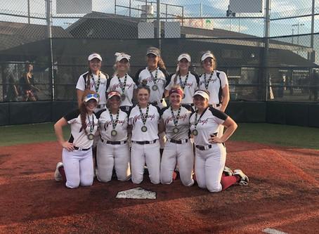 2020 Buckeye Recruitfest Gold Bracket Champions- 1st place - Ohio Wolfpack 18U Mertes