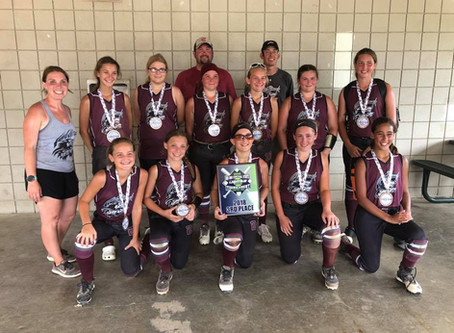 Wolfpack 12u - VanSickle   USSSA STATE   3rd PLACE   2018