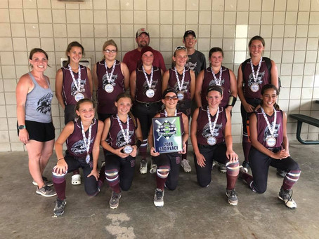 Wolfpack 12u - VanSickle | USSSA STATE | 3rd PLACE | 2018
