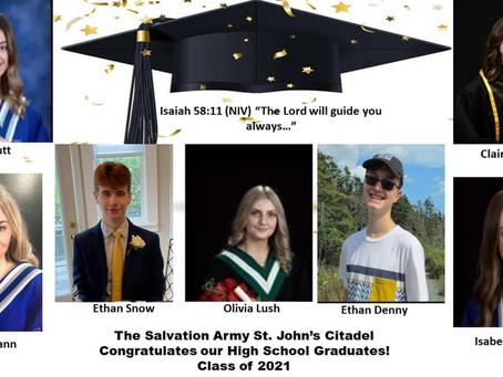 Congratulations High School Graduates!