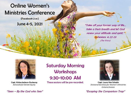 Divisional Women's Ministries Online Conference