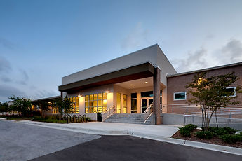 community center LEED standard architecture architect design renovation rebuild education facility technology modern contemporary local florida