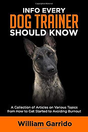 Info Every Dog Trainer Should Know