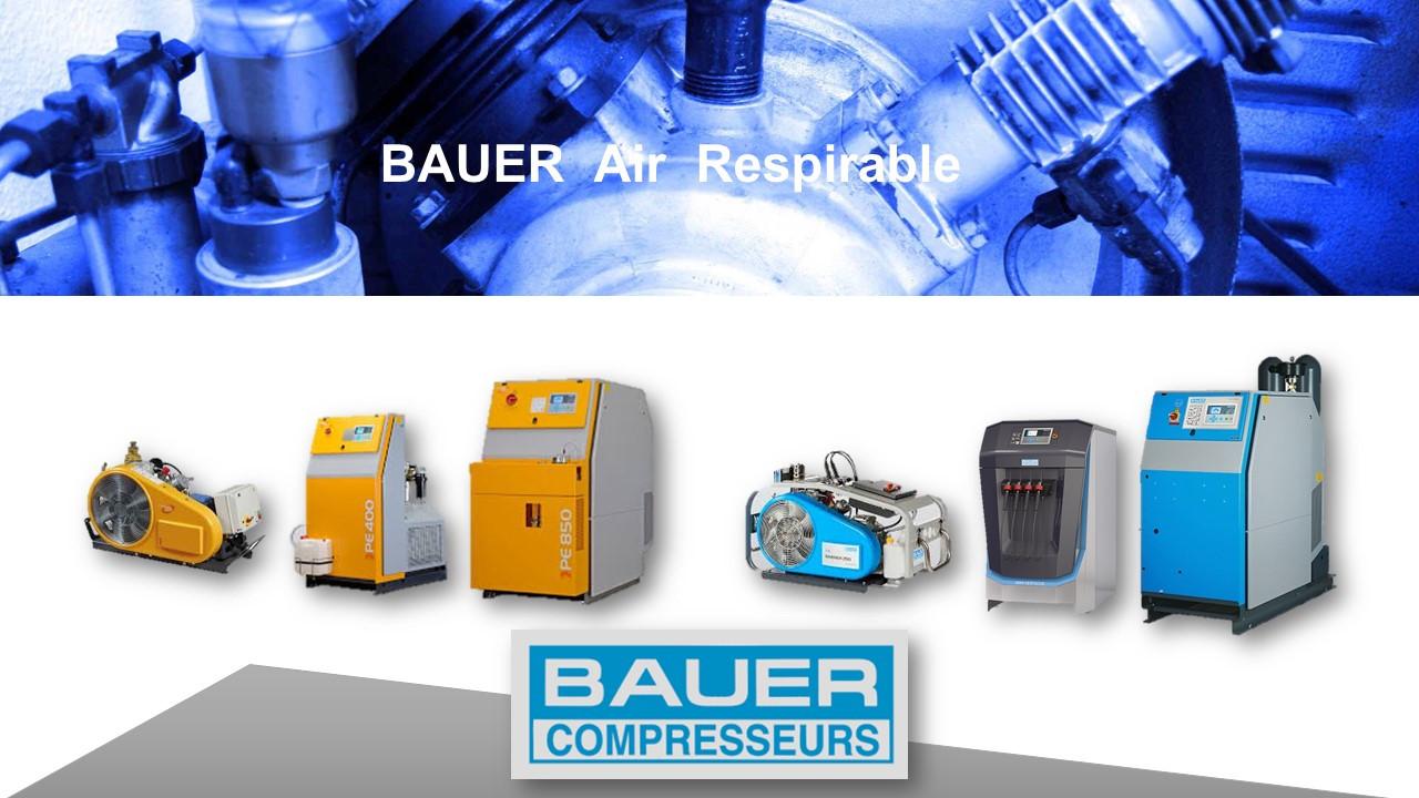 Tech.H BAUER Air respirable Haute Pressi