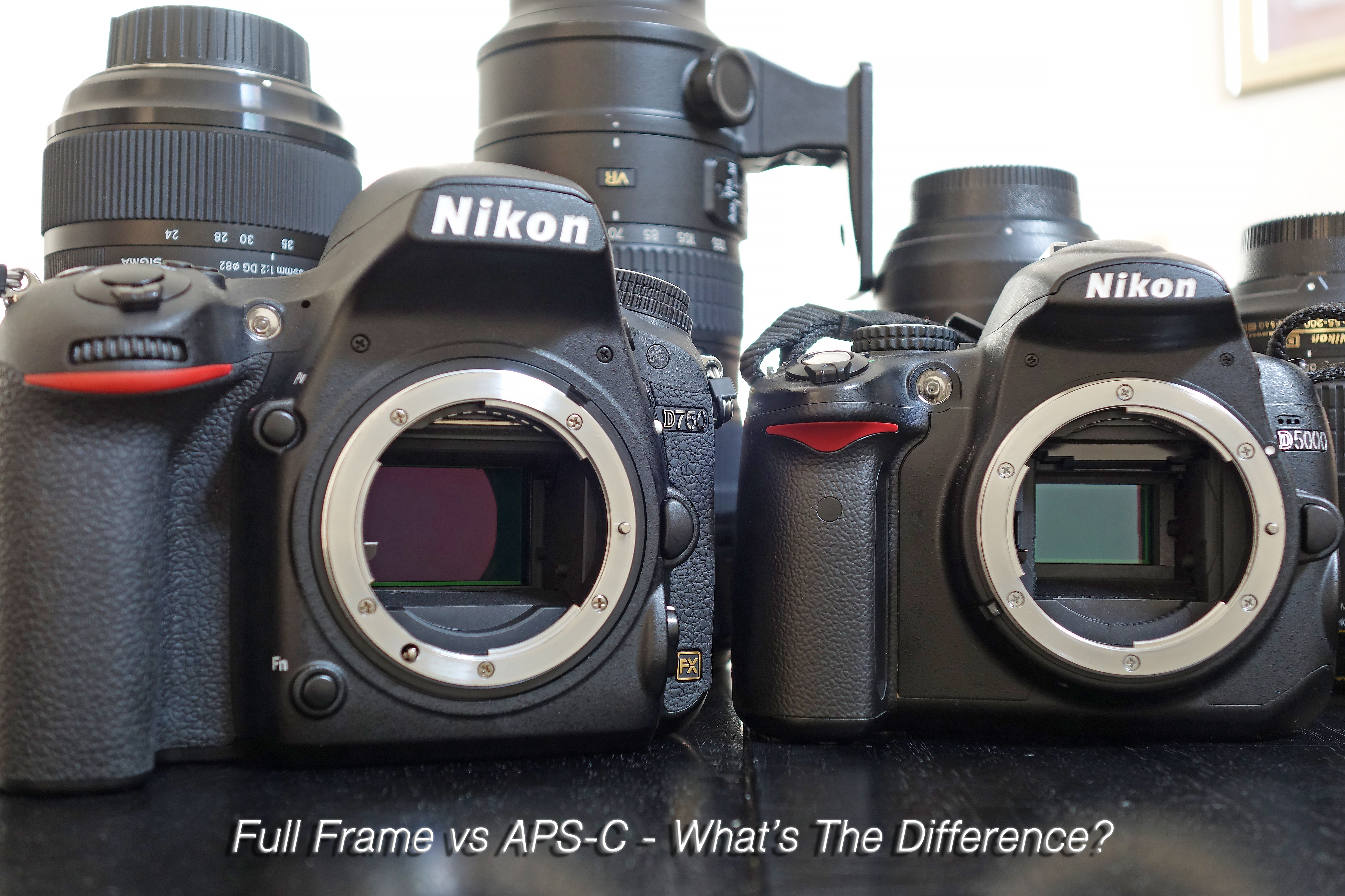 APS-C & Full Frame Sensors - What\'s The Difference? | Vueey Le ...