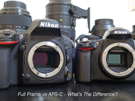 APS-C & Full Frame Sensors - What's The Difference?