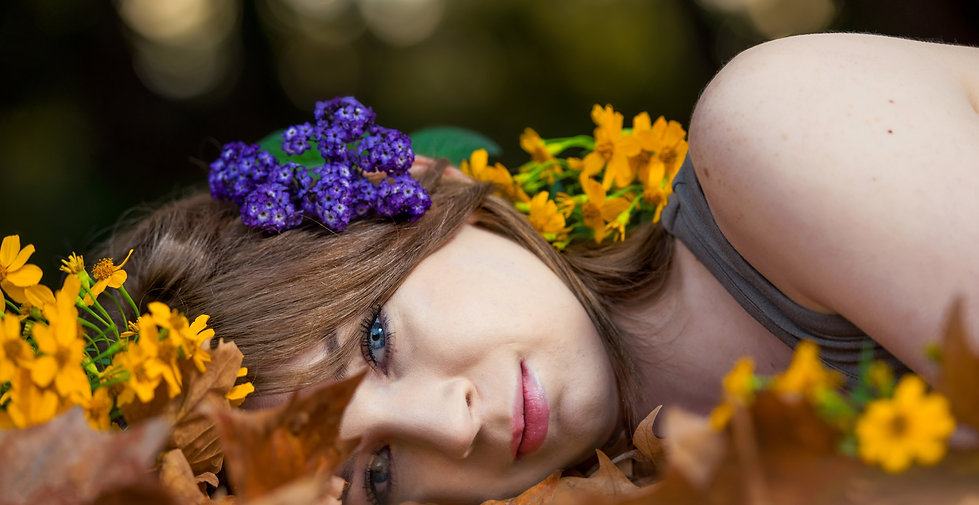Beautiful Model Headshot Photography