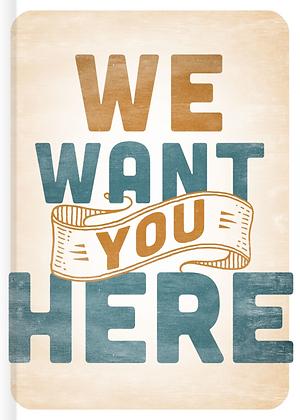 We Want You Here (case/20)