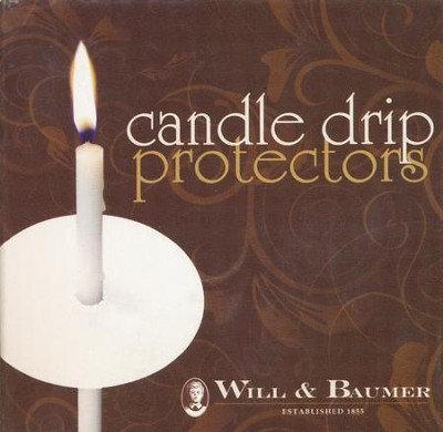 Candle Drip Protectors (50/pk)