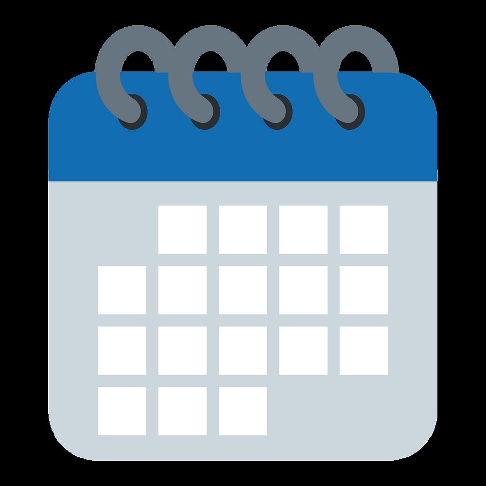 Calendário - Orçamento de obra