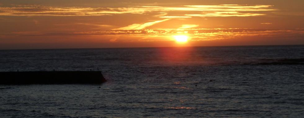 Sunset at Sennen
