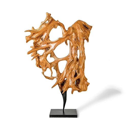 Rise wooden sculpture