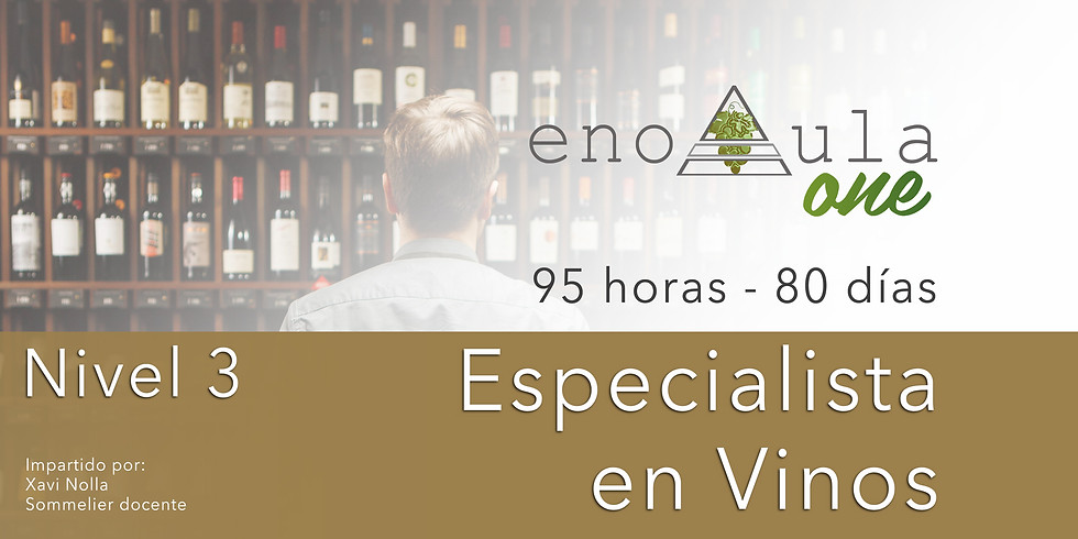 (FB) Curso Especialista en Vinos Niv.3 (12 vinos)