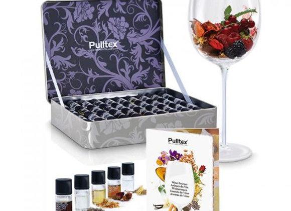 Set de 40 aromas del vino by Pulltex
