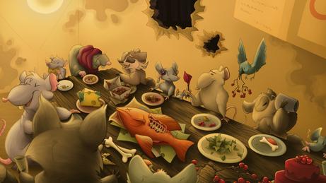 A Feast of Scavengers