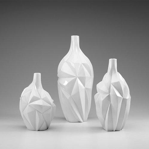 Frozen White Vase
