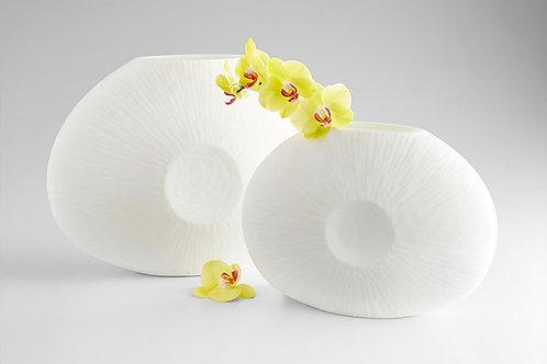 Lou White Vase