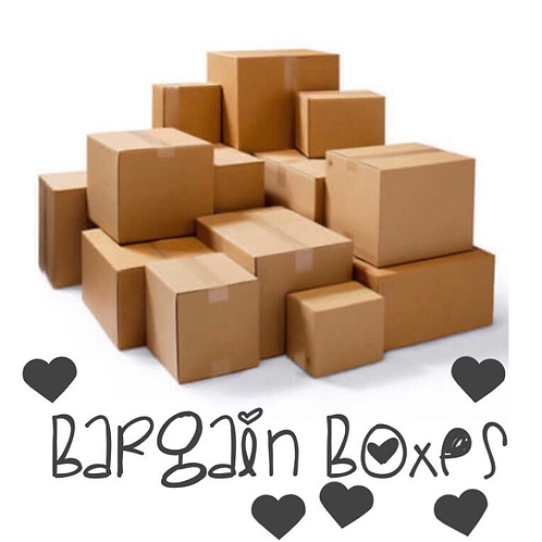 Bargain box £25 (can be sibling)