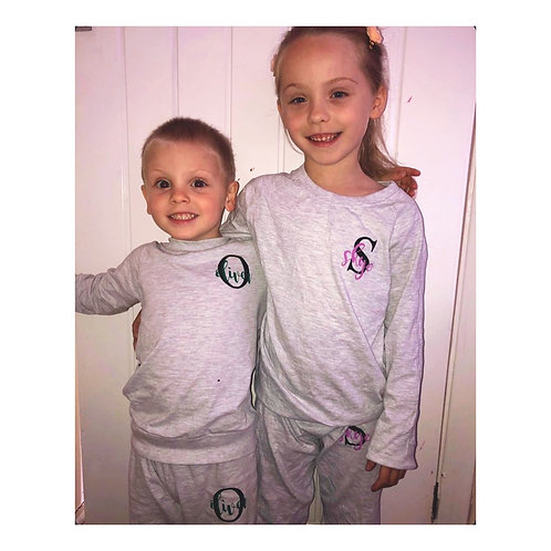Family loungewear sets kids
